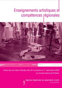 Enseignements artistiques et compétences régionales