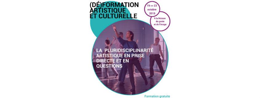 (Dé)formation artistique et culturelle